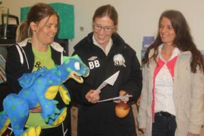 Certified Preschool Teacher Kristina Bergsvlle and Heidi Iren Vatne, Manager