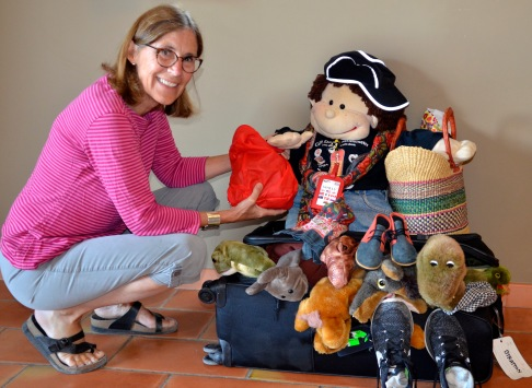 Carolyn with Wally travel packs9180.jpg