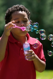 Blowing bubbles sm